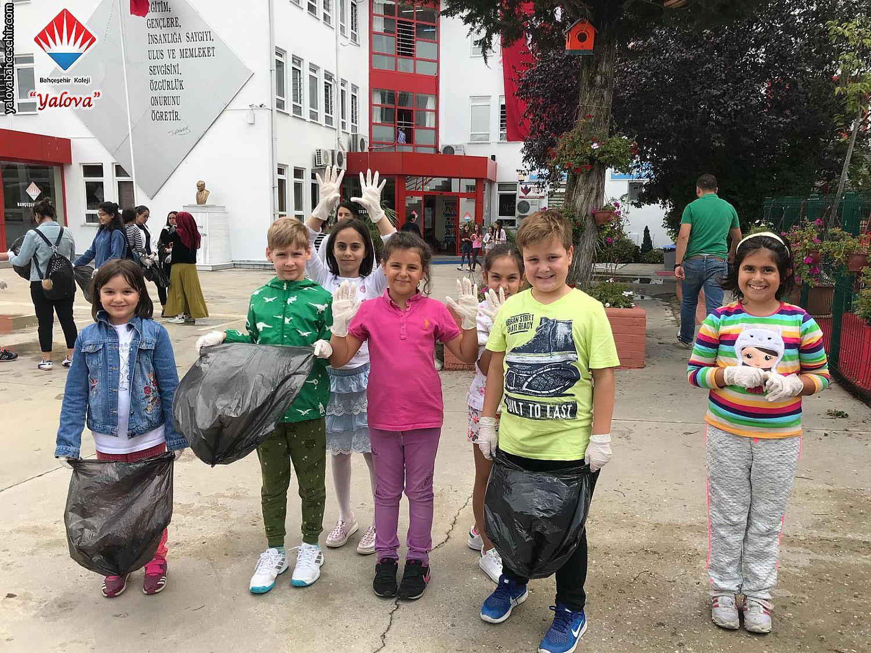 15 Eylül Dünya Temizlik Günü - Çöpünü Sokağa Atma, Çöp Kutusuna At