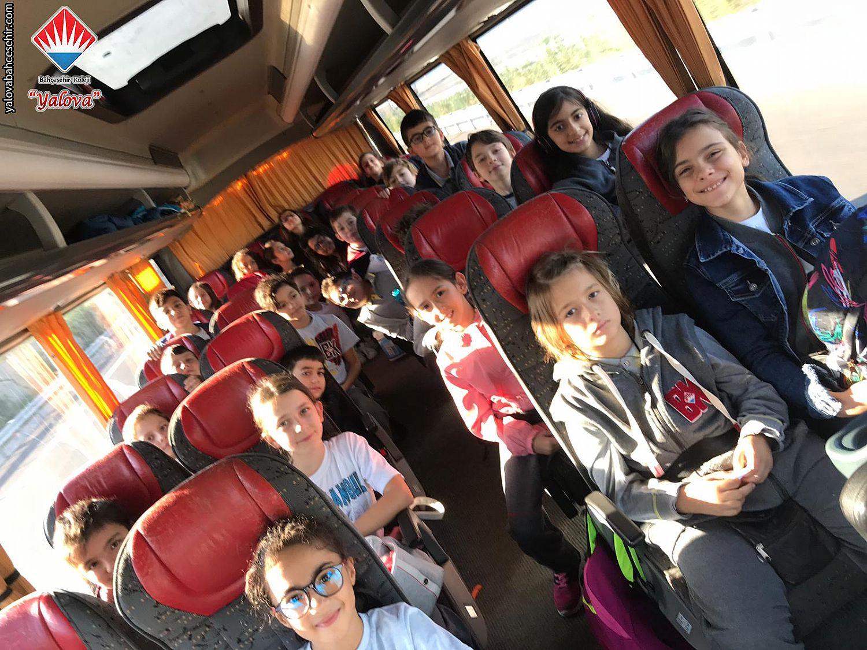 5, 6 ve 7. Sınıflarımızın İstanbul Gezisi