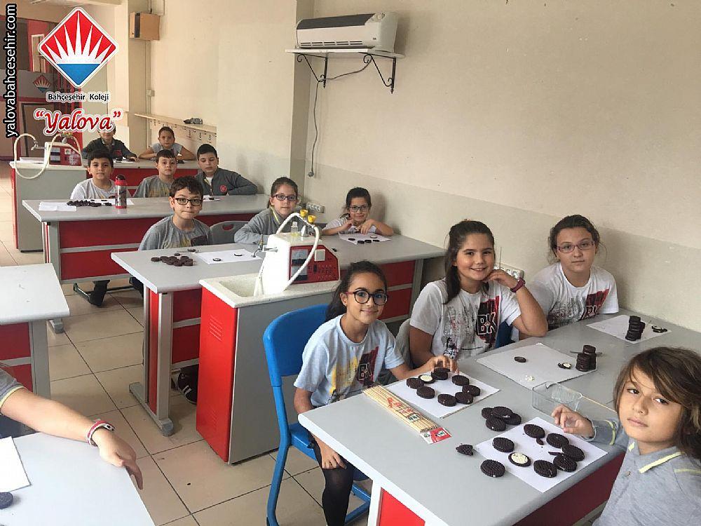 5. Sınıflarımız Ay'ın Evrelerini Keşfediyor