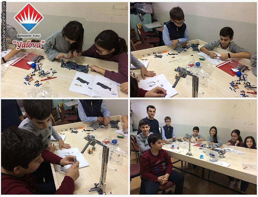 6 ve 7. Sınıflarımızın Robotik Çalışmaları