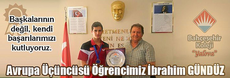 Avrupa 3.sü Yalova Bahçeşehir Koleji