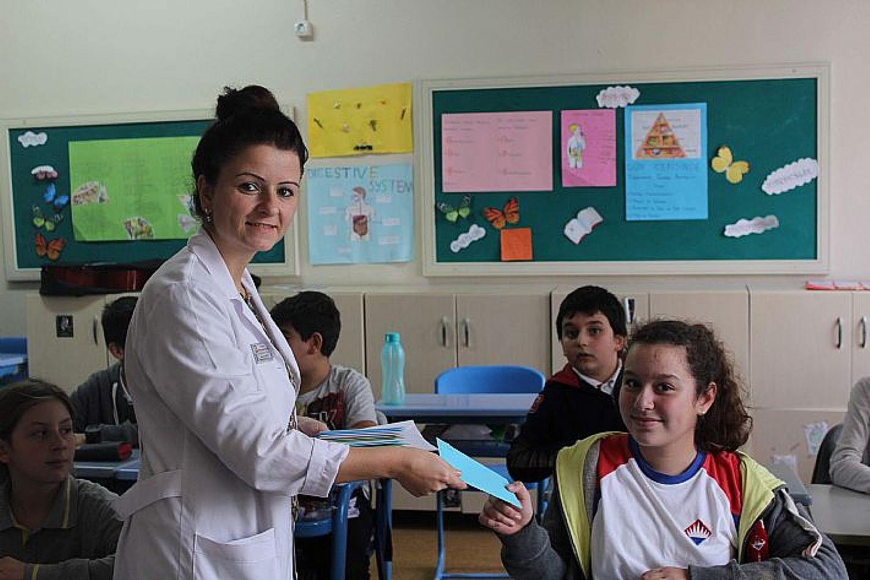 Bandırma Bahçeşehir Koleji - Yalova'dan selamlar, Almanca mektubumuz var