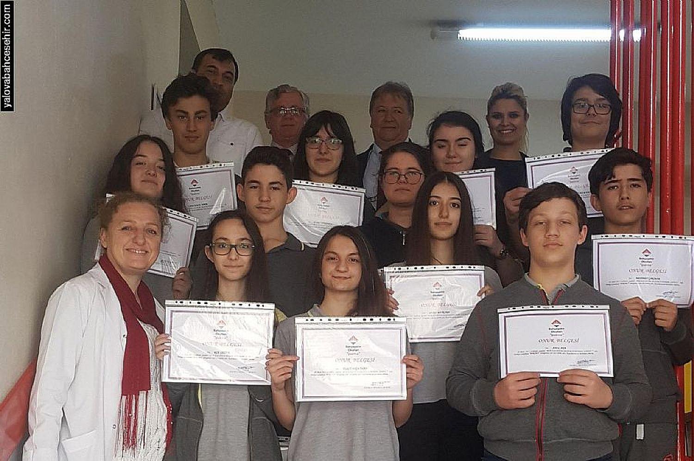 2017 Kazanım Değerlendirme Sınavı Türkiye ve İl Birincilerimiz