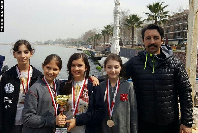 Yalova Bahçeşehir Koleji Oryantiring İl İkincisi Oldu