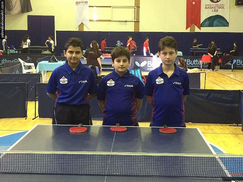 Küçük Erkekler Bölge Şampiyonu Yalova Bahçeşehir