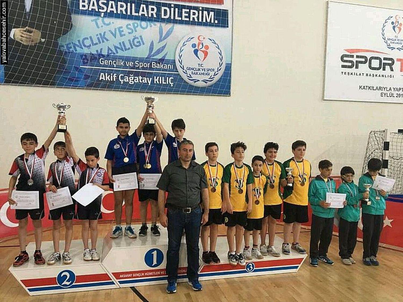 Türkiye Şampiyonu Yine Yalova Bahçeşehir Koleji