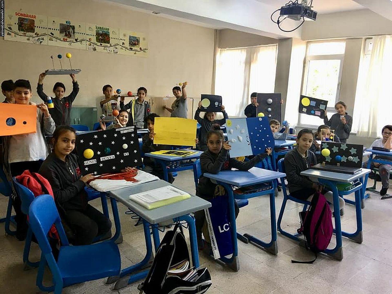 Güneş, Dünya ve Ay - 5. Sınıflarımız Öğreniyor