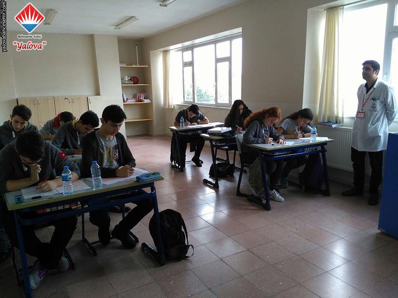 Yeni Sınav Sistemi'ne Uygun İlk Deneme Sınavımızı Yaptık