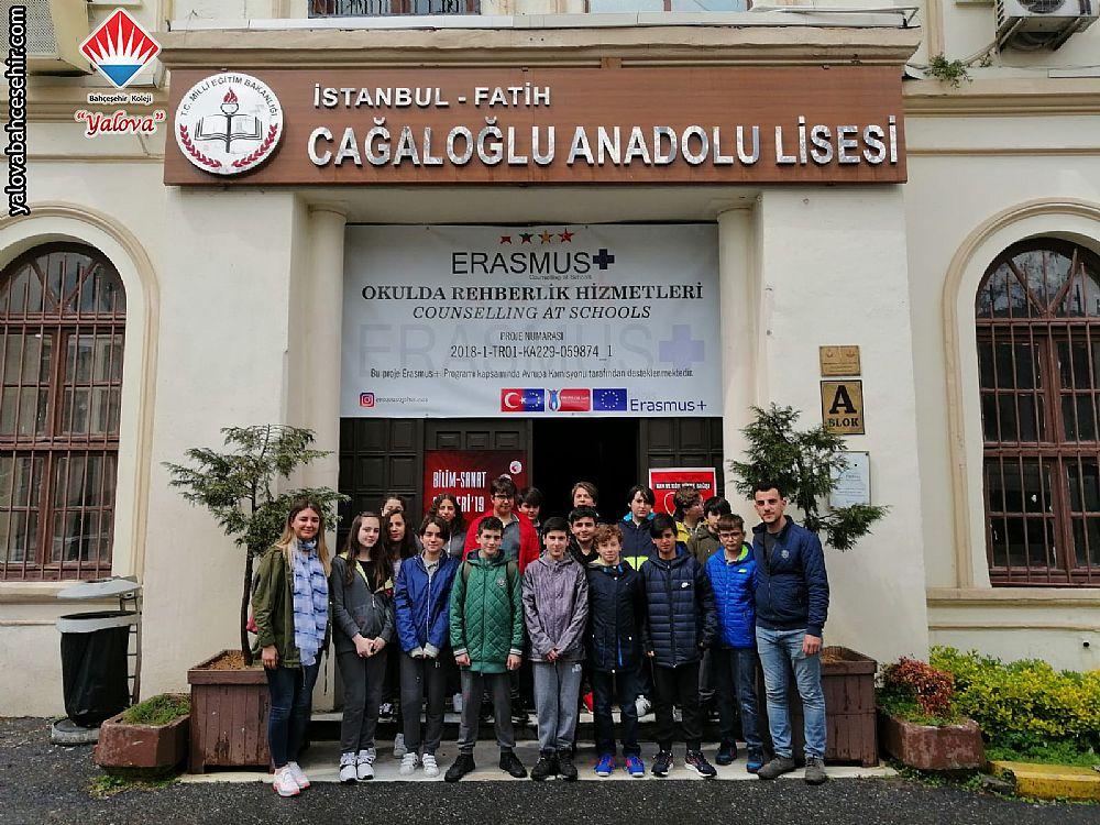 Cağaloğlu Anadolu Lisesi Gezimiz - Nisan 2019