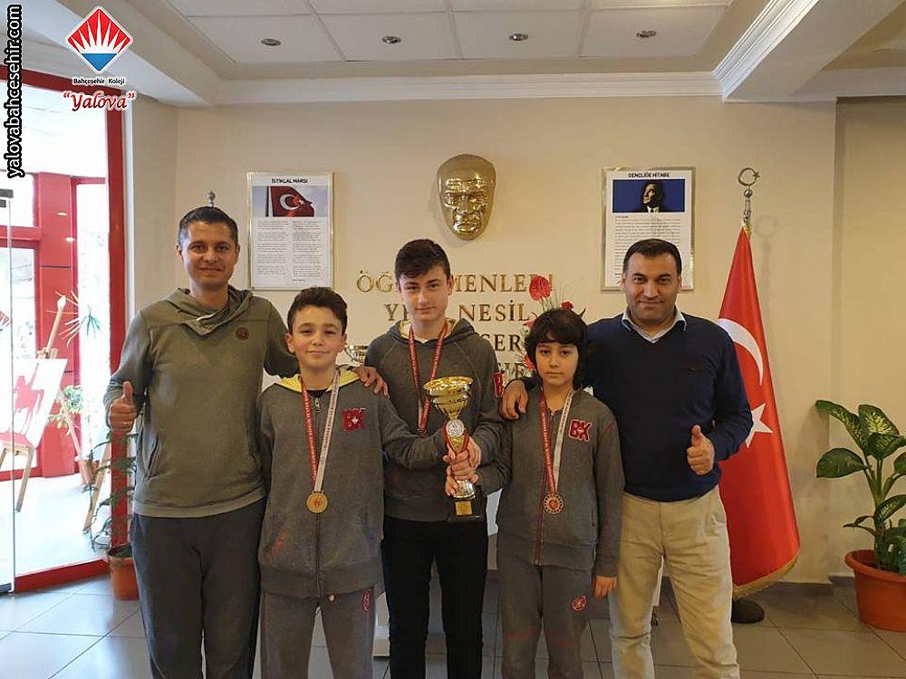 Bölge Şampiyonluğu 2019 - Yalova'ya Bir Şampiyonluk Daha Kazandırdık