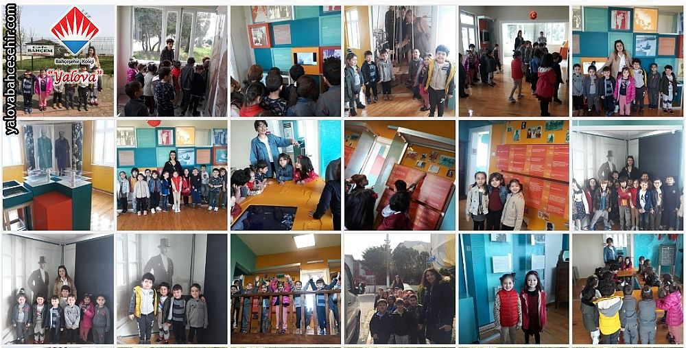 Atatürk ve Çocuk Müzesindeyiz