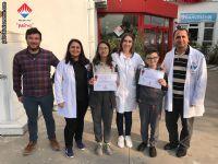 AGİS 02 Sınavı 7. sınıflar Türkiye Birincisi olan öğrencilerimiz