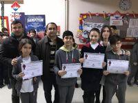 AGİS-3 Türkiye Birincisi Olan 7. Sınıf Öğrencilerimiz