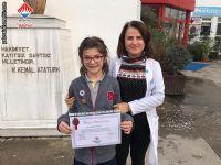 4. Sınıflarda AGİS03 Türkiye Birincisi Öğrencimiz
