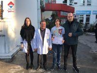 Ali Kuşçu Matematik Yarışmasının Birincisi Olan Öğrencimiz Mehmet Kaan AKIN