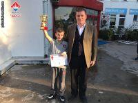2018 Yalova Yaş Grupları İl Birinciliği Satranç Turnuvasında 12 Yaş Genel Kategorisinde İkinci Olan Öğrencimiz Kayra CAMCI