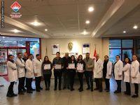 28 - 29 Aralık 2018 tarihinde Türkiye genelinde yapılan TÖDER sınavında ilk 10 da 8 derece elde eden Anadolu Lisesi öğrencilerimiz.