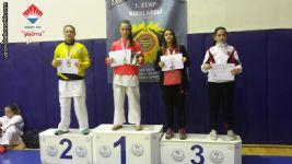 2019 Trakya Karate Ligi Kırklareli 1. Etap Kızlar Şampiyonu Selinay SÖKMEN