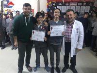 7. Sınıflar AGİS08 Türkiye Birincisi Öğrencilerimiz