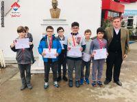 Yalova Okul Sporları Satranç takım yarışmasında İl Üçüncüsü olan takımımız.