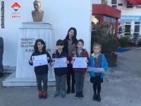 12 Mart 2019 tarihinde yapılan AGİS sınavında Türkiye birincisi olan 2. sınıf öğrencilerimiz.