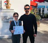 """16 - 17 Mart 2019 tarihinde Edirne 'de yapılan  Anadolu Yıldızlar Ligi  13 Yaş Kızlar Yüzme Müsabakalarında  50 m ve 200 m kurbağalamada Marmara Bölgesi  """"ÜÇÜNCÜ""""  sü olan öğrencimiz"""