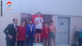 İl yüzme müsabakalarında 50m serbest sitil yarışmasında İl birincisi olarak Altın Madalya alan öğrencimiz
