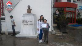 Türk Polis Teşkilatının 174. Yıl Dönümü Nedeniyle  Düzenlenen Resim Yarışmasında 2. Olan 4. Sınıf Öğrencimiz Ela Çetinbaş