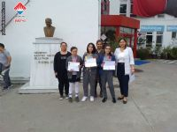 04 - 10 Mayıs 2019 tarihleri arasında Karayolu Trafik Haftası Etkinlikleri çerçevesinde düzenlenen yarışmalarda Yalova Bahçeşehir Koleji öğrencileri kompozisyon yarışmasında 1., 2.ve 3. lüğü kimselere bırakmadı.